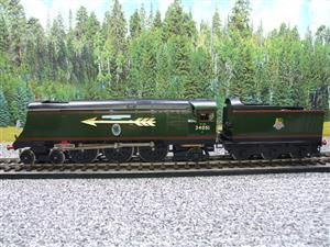 "Ace Trains O Gauge E9S1 Bulleid Pacific BR ""Sir Winston Churchill"" R/N 34051 Electric 2/3 Rail Boxed image 9"