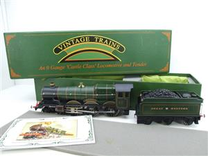 "Ace Trains Darstaed O Gauge GWR Castle Class ""Great Western"" R/N 7007 Electric 3 Rail Bxd image 3"