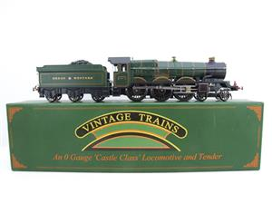 "Ace Trains Darstaed O Gauge GWR Castle Class ""Great Western"" R/N 7007 Electric 3 Rail Bxd image 4"
