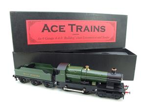 "Ace Trains O Gauge E16 Bulldog ""Great Western"" Bird Unlined Green Loco & Tender Electric 2/3 Rail image 2"