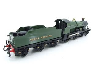 "Ace Trains O Gauge E16 Bulldog ""Great Western"" Bird Unlined Green Loco & Tender Electric 2/3 Rail image 7"