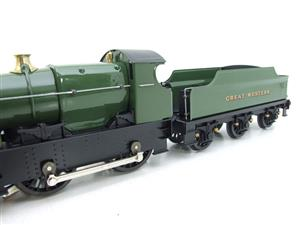 "Ace Trains O Gauge E16 Bulldog ""Great Western"" Bird Unlined Green Loco & Tender Electric 2/3 Rail image 8"