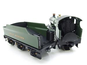 "Ace Trains O Gauge E16 Bulldog ""Great Western"" Bird Unlined Green Loco & Tender Electric 2/3 Rail image 9"