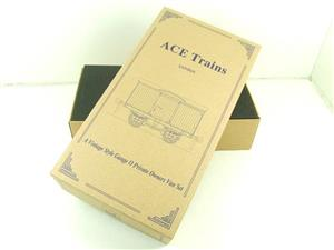 Ace Trains O Gauge Private Owners Empty Van Set Box New x3 Storage Box image 3