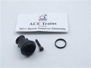 "Ace Trains O Gauge ""SC/1 Spark Arrestor Chimney"" For use on E21 Panniers Locomotives image 1"