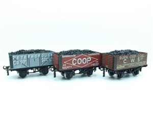 "Ace Trains O Gauge G/5 WS10 Private Owner ""Co-Op"" Coal Wagons x3 Set 10 Bxd image 9"