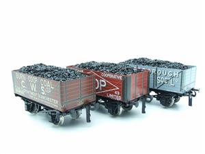 "Ace Trains O Gauge G/5 WS10 Private Owner ""Co-Op"" Coal Wagons x3 Set 10 Bxd image 10"