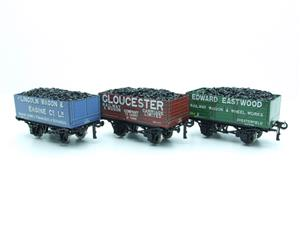 "Ace Trains O Gauge G/5 WS9 Private Owner ""Wagon Builders"" Coal Wagons x3 Set 9 Bxd image 9"