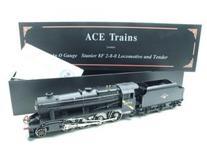 Ace Trains O Gauge E38H, Late Post 56 BR Satin Black Class 8F, 2-8-0 Locomotive and Tender R/N 48773 image 1