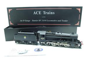 Ace Trains O Gauge E38E, Early Pre 56 BR Satin Black Class 8F, 2-8-0 Locomotive and Tender R/N 48624 image 3