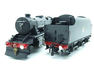 Ace Trains O Gauge E38E, Early Pre 56 BR Satin Black Class 8F, 2-8-0 Locomotive and Tender R/N 48624 image 8