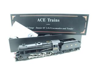 Ace Trains O Gauge E38B1, LMS Un-Lined Satin Black Class 8F, 2-8-0 Locomotive and Tender R/N 8274 image 1