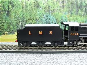 Ace Trains O Gauge E38B1, LMS Un-Lined Satin Black Class 8F, 2-8-0 Locomotive and Tender R/N 8274 image 6