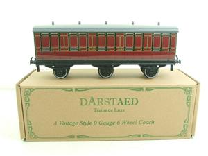Darstaed O Gauge LMS 1 Six Wheel Parcels Van Wagon R/N 508 Brand New Boxed image 1