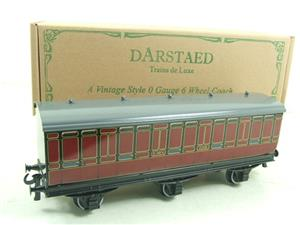Darstaed O Gauge LMS 1 Six Wheel Parcels Van Wagon R/N 508 Brand New Boxed image 2