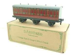 Darstaed O Gauge LMS 1 Six Wheel Parcels Van Wagon R/N 508 Brand New Boxed image 10