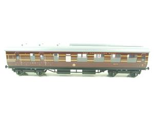 Ace Trains O Gauge C28B LMS Maroon Coronation Scot Coaches x3 Set B Bxd 2/3 Rail image 4