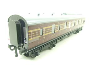Ace Trains O Gauge C28B LMS Maroon Coronation Scot Coaches x3 Set B Bxd 2/3 Rail image 5