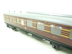 Ace Trains O Gauge C28B LMS Maroon Coronation Scot Coaches x3 Set B Bxd 2/3 Rail image 6