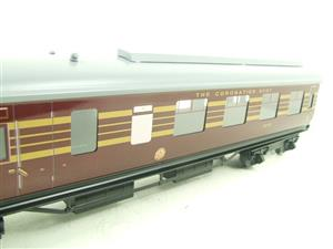 Ace Trains O Gauge C28B LMS Maroon Coronation Scot Coaches x3 Set B Bxd 2/3 Rail image 7