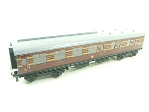 Ace Trains O Gauge C28B LMS Maroon Coronation Scot Coaches x3 Set B Bxd 2/3 Rail image 9