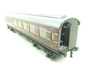 Ace Trains O Gauge C28B LMS Maroon Coronation Scot Coaches x3 Set B Bxd 2/3 Rail image 10