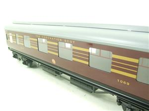 Ace Trains O Gauge C28A LMS Maroon Coronation Scot Coaches x3 Set A Bxd 2/3 Rail image 4