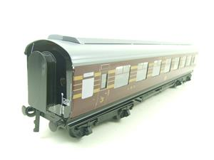 Ace Trains O Gauge C28A LMS Maroon Coronation Scot Coaches x3 Set A Bxd 2/3 Rail image 5