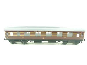 Ace Trains O Gauge C28A LMS Maroon Coronation Scot Coaches x3 Set A Bxd 2/3 Rail image 6