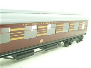 Ace Trains O Gauge C28A LMS Maroon Coronation Scot Coaches x3 Set A Bxd 2/3 Rail image 7