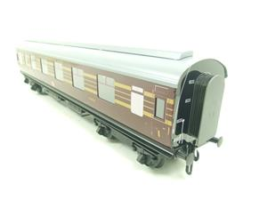 Ace Trains O Gauge C28A LMS Maroon Coronation Scot Coaches x3 Set A Bxd 2/3 Rail image 9