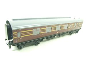 Ace Trains O Gauge C28A LMS Maroon Coronation Scot Coaches x3 Set A Bxd 2/3 Rail image 10