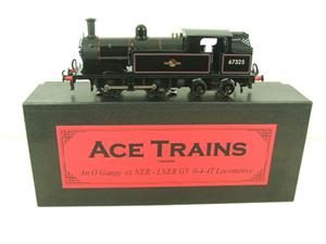 Ace Trains O Gauge E25E1 BR Black 0-4-4T G5 Tank Loco RN 67325 Electric 2/3 Rail Boxed image 1
