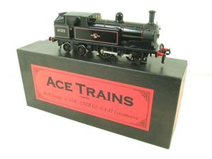 Ace Trains O Gauge E25E1 BR Black 0-4-4T G5 Tank Loco RN 67325 Electric 2/3 Rail Boxed image 2