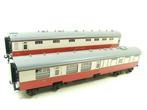 Ace Trains O Gauge C21C BR SR Bulleid Tavern Blood & Custard x2 Coaches Set Boxed image 3