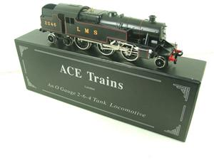 Ace Trains O Gauge E8 LMS Satin Black 2 Cyl Stanier Tank Loco R/N 2546 Electric 2/3 Rail Bxd image 2
