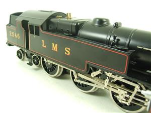 Ace Trains O Gauge E8 LMS Satin Black 2 Cyl Stanier Tank Loco R/N 2546 Electric 2/3 Rail Bxd image 9