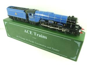 "Ace Trains O Gauge E6 A3 Pacific BR Blue ""Blink Bonny"" R/N 60051 Electric Boxed image 2"