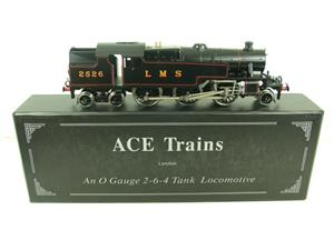 Ace Trains O Gauge E8 LMS 3 Cyl Stanier Tank 2-6-4 Loco R/N 2526 Electric 2/3 Rail Boxed image 1