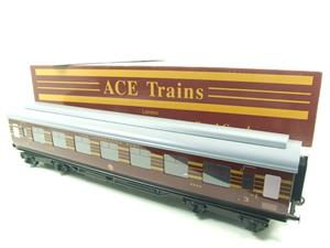 Ace Trains O Gauge C28-03 LMS Maroon Coronation Scot Open 3rd Coach Bxd 2/3 Rail image 2