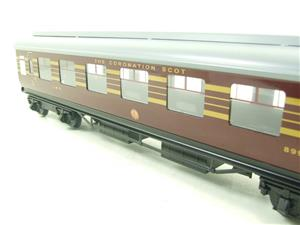 Ace Trains O Gauge C28-03 LMS Maroon Coronation Scot Open 3rd Coach Bxd 2/3 Rail image 6