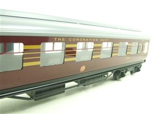 Ace Trains O Gauge C28-03 LMS Maroon Coronation Scot Open 3rd Coach Bxd 2/3 Rail image 8
