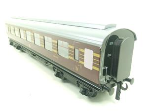 Ace Trains O Gauge C28-03 LMS Maroon Coronation Scot Open 3rd Coach Bxd 2/3 Rail image 9