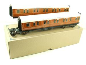 Ace Trains O Gauge C6 LNER Teak Style Articulated Sleepers Sleeping Coaches x2 Set Boxed image 3