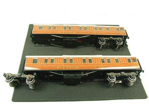 Ace Trains O Gauge C6 LNER Teak Style Articulated Sleepers Sleeping Coaches x2 Set Boxed image 6