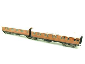 Ace Trains O Gauge C6 LNER Teak Style Articulated Sleepers Sleeping Coaches x2 Set Boxed image 10