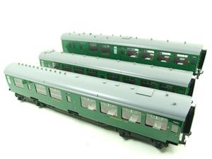 Ace Trains O Gauge C21A SR Green Bulleid Post War x3 Coaches Set A Boxed image 2