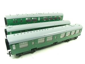 Ace Trains O Gauge C21A SR Green Bulleid Post War x3 Coaches Set A Boxed image 3