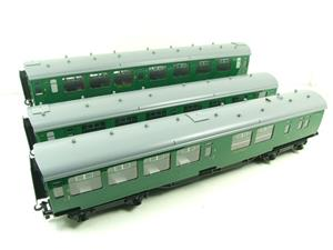 Ace Trains O Gauge C21B SR Green Bulleid Post War x3 Coaches Set B Boxed image 3