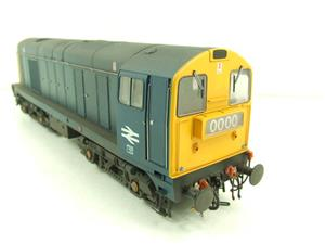 HelJan O Gauge 2014 Class 20 BR Blue With Full Yellow Ends Diesel Loco Weathered Electric Bxd image 6